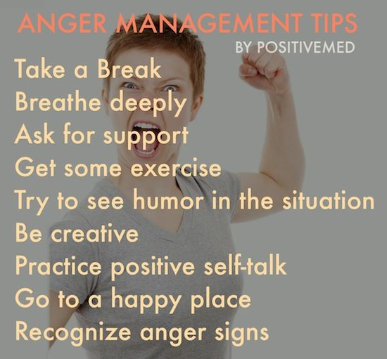 How to control anger outbursts