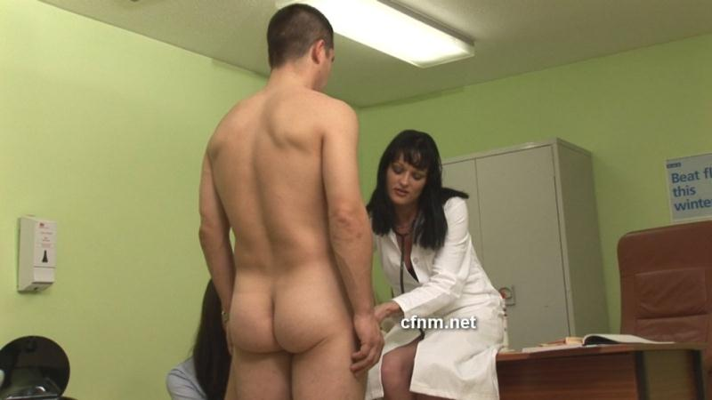 Hot sexy naked men clothed females