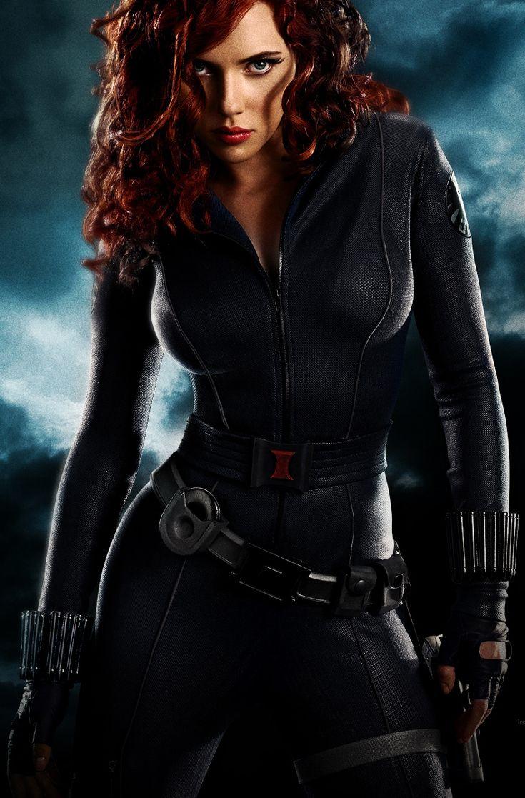 Scarlett johansson avengers black widow