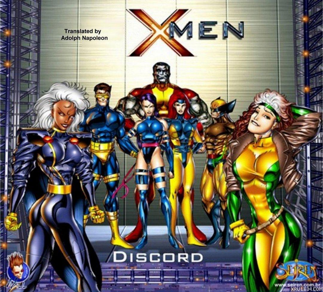 X men porn comics