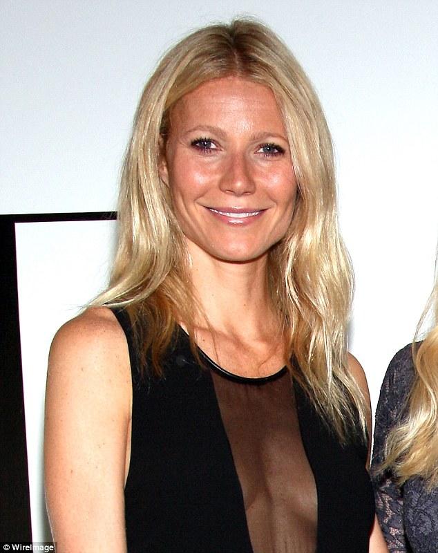 Paltrow braless gwyneth