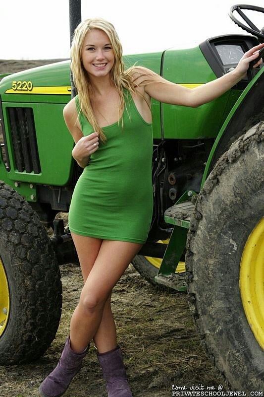 Teen farm girls