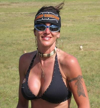 Nude women at sturgis bike rally
