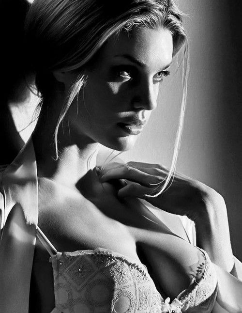 Black and white photography sexy girls