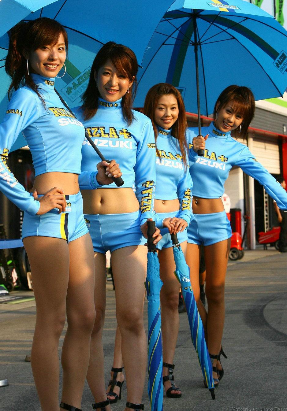 Bottomless asian girls