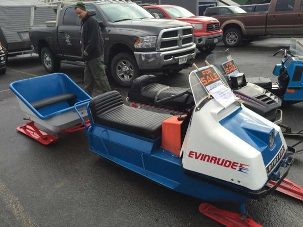 snowmobiles Vintage for sale evinrude