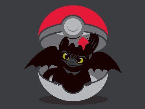 How to train your dragon pokemon