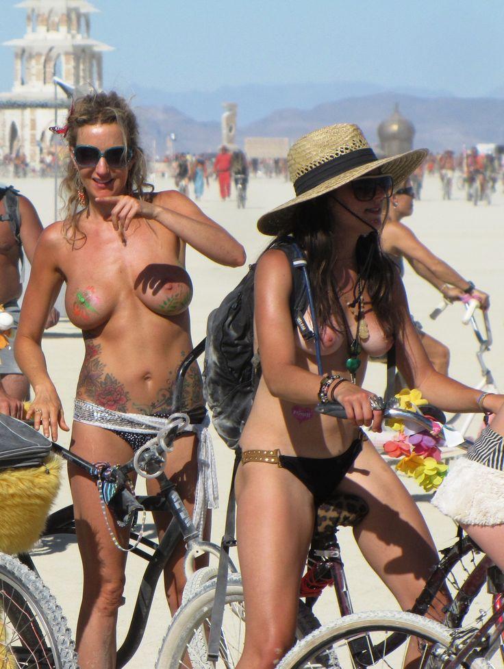 Burning man photos naked nude