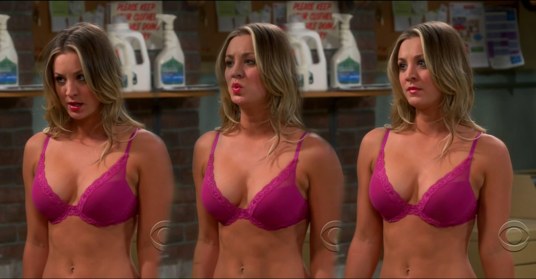 Kaley cuoco big bang theory penny naked