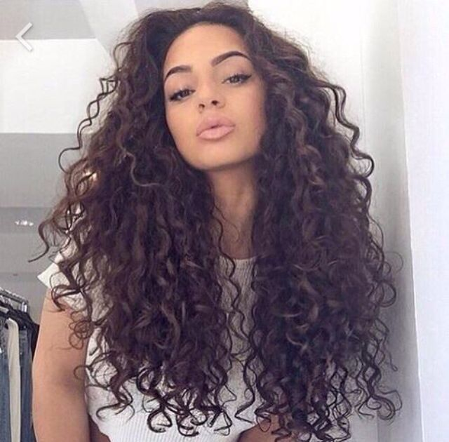 Latina girls with curly hair