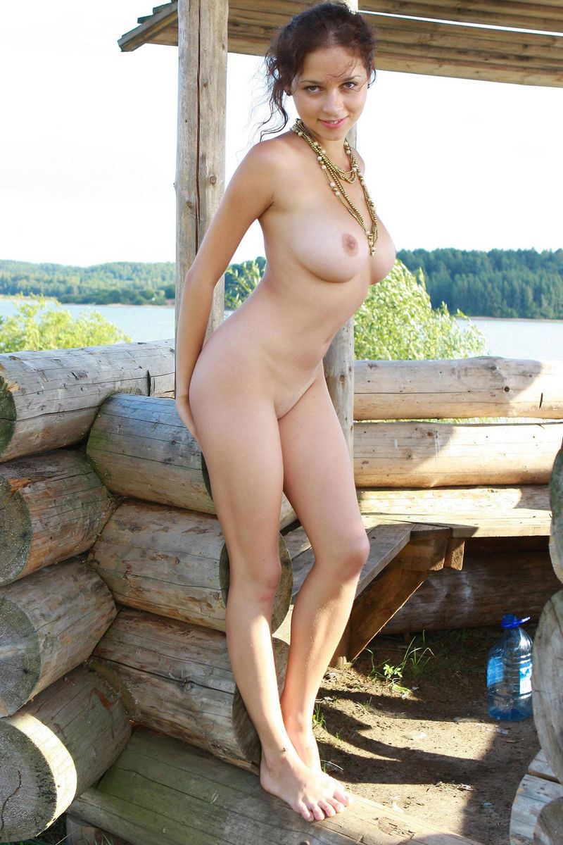 Naked russian big tit