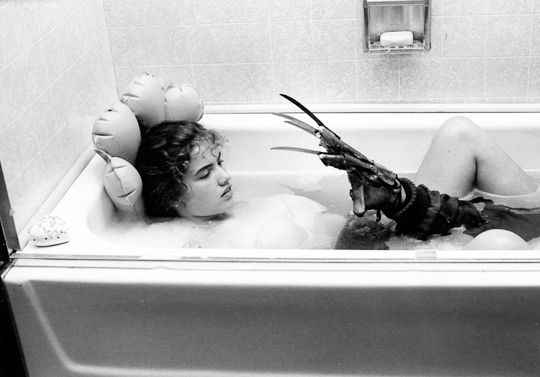 Nightmare on elm street bathtub scene