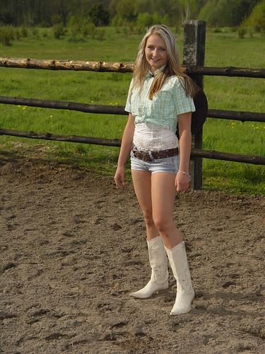 Teen farm girls