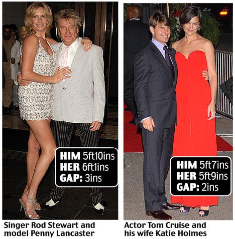man short sex woman Tall