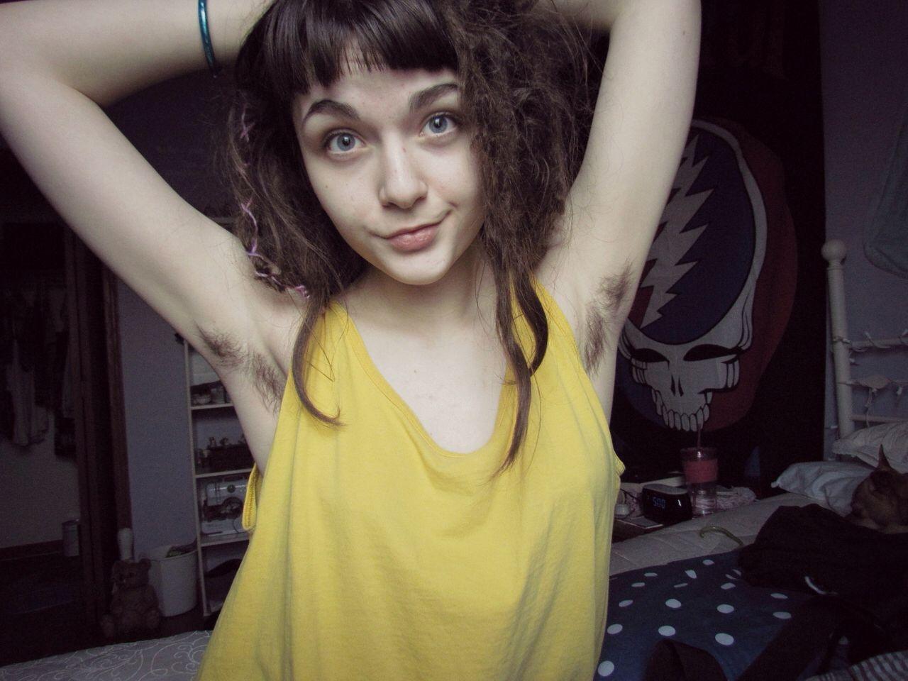 Hairy hippie girls nude