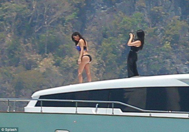 kardashian thailand Kim thong