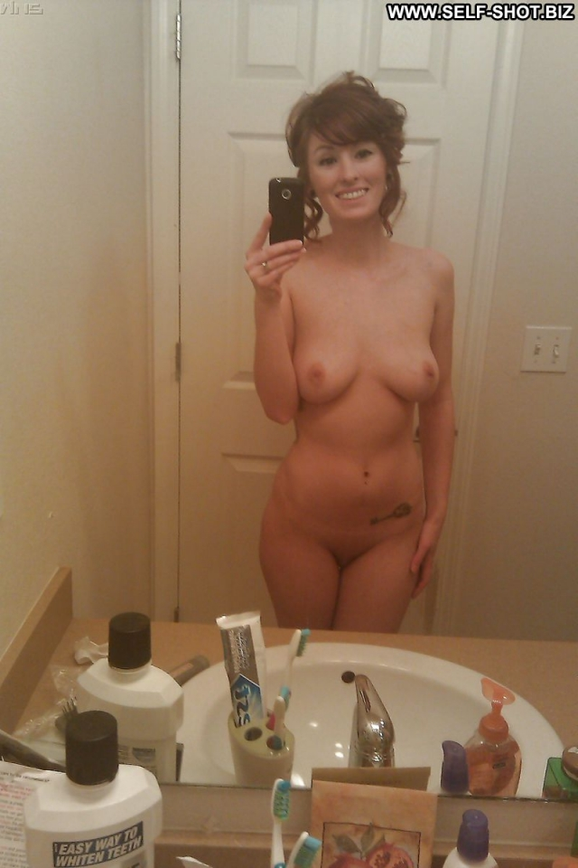 Horny latina self shot nude