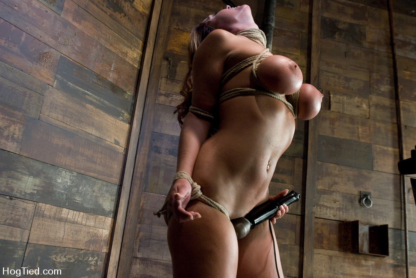 breast Naked bondage women