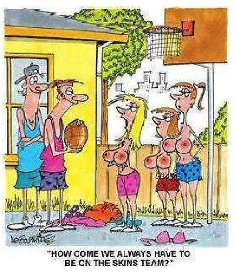 cartoon Adult sex humor