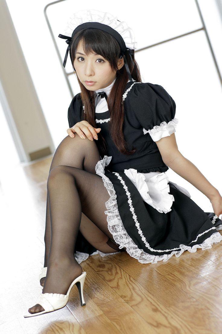 Japanese panty fetish model