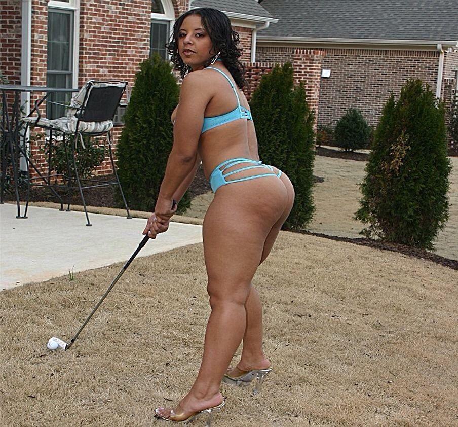 Sexy black woman bbw