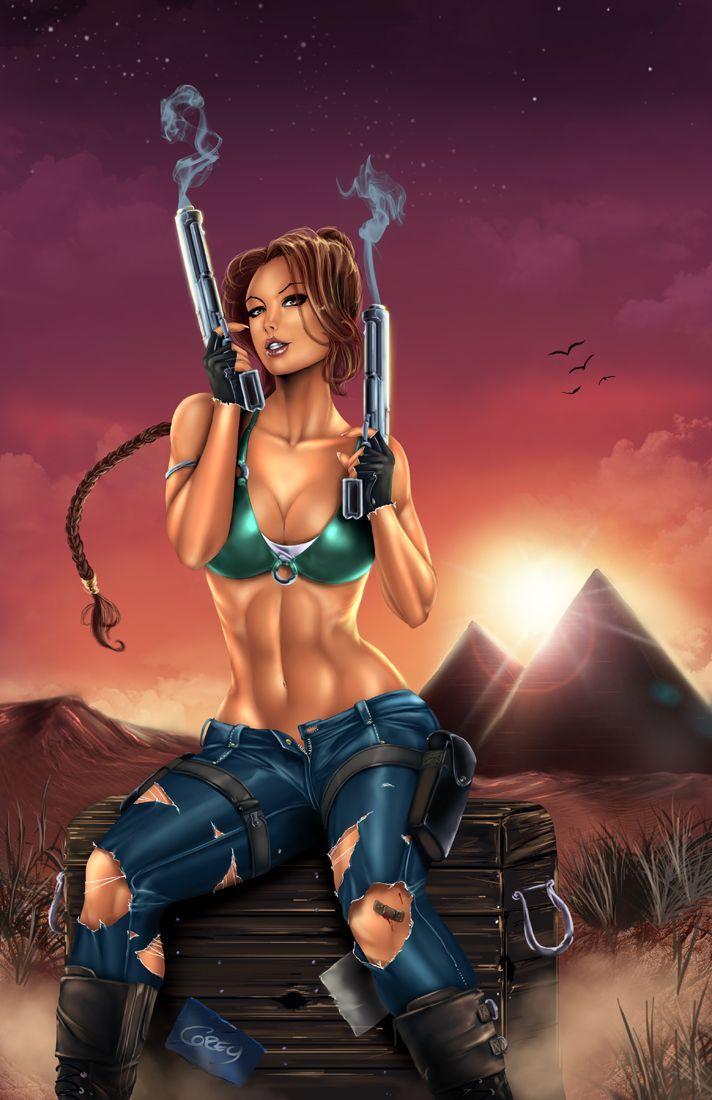 Nude lara croft fantasy