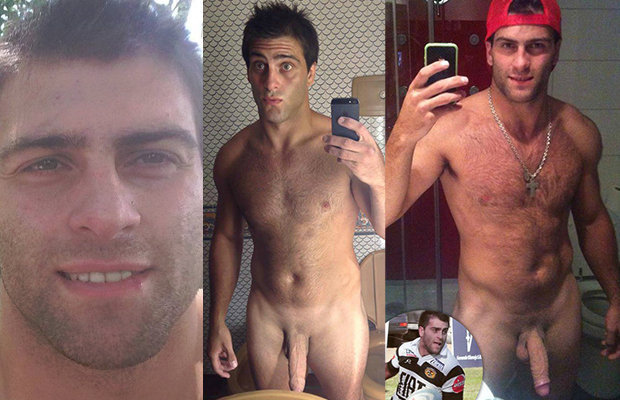 Naked rugby player nude