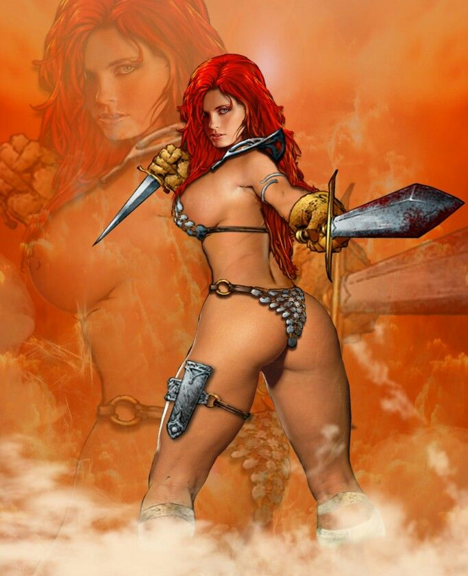 half naked women barbarians
