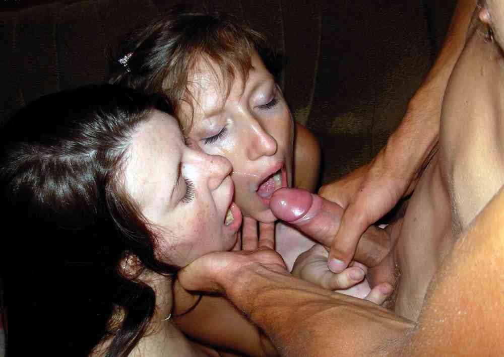 Homemade group cum shot that