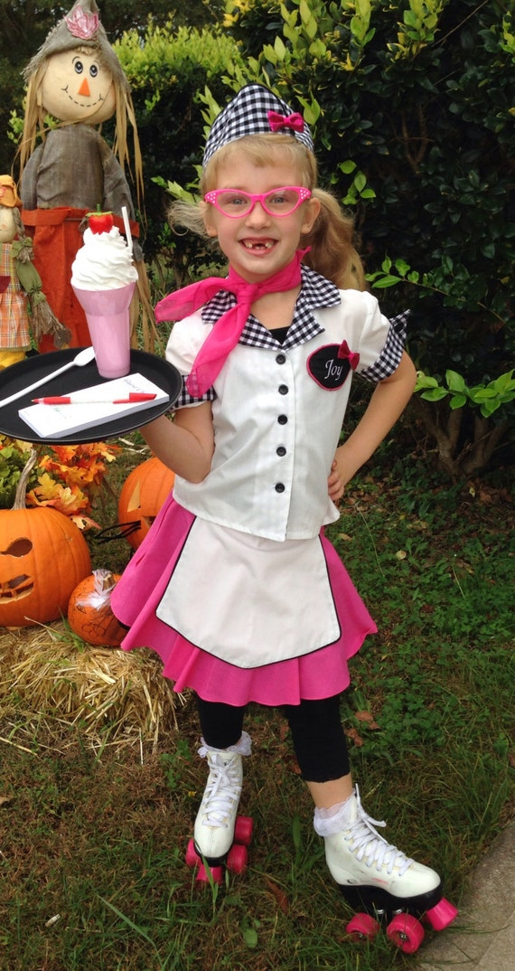halloween Carhop costume girl