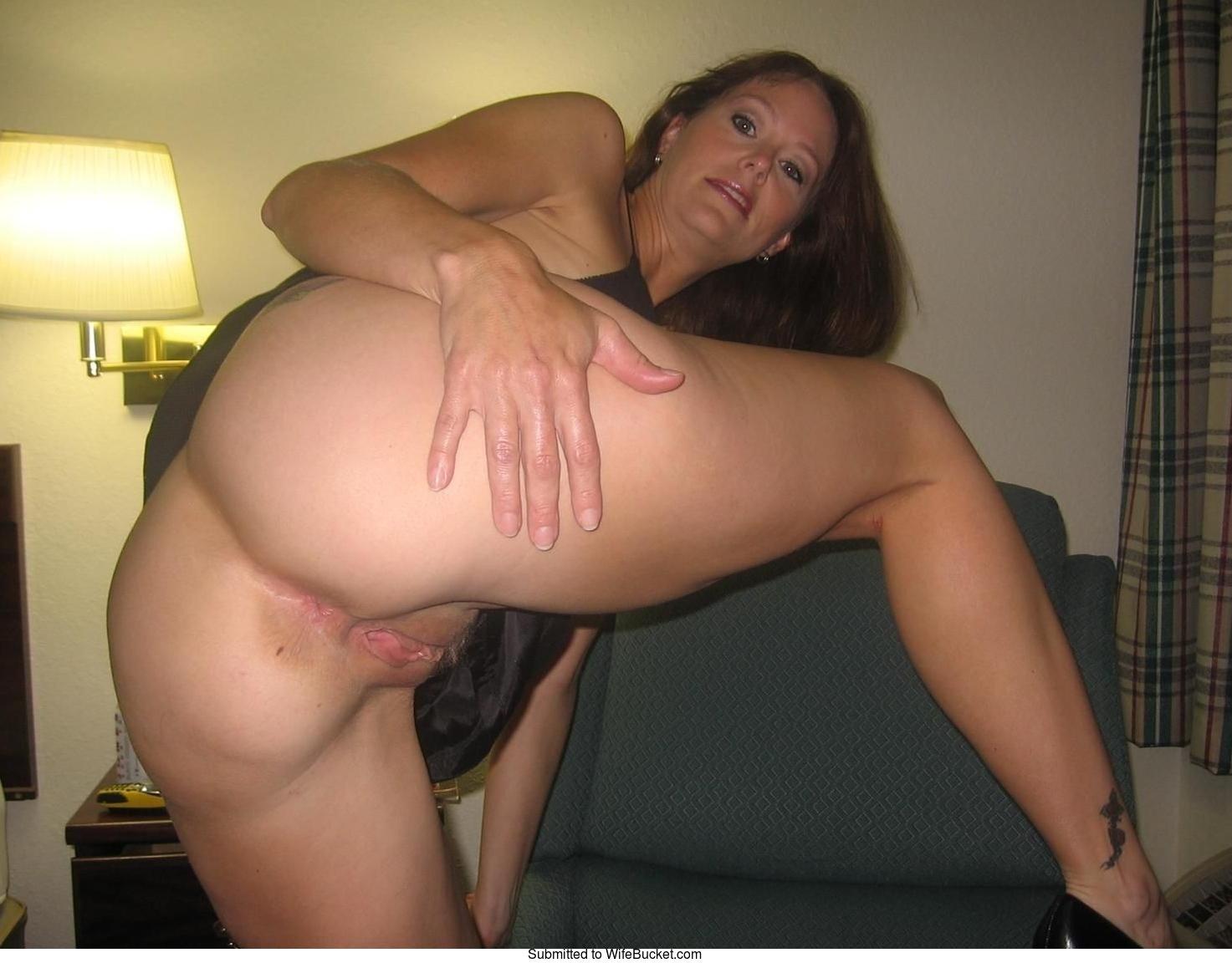 Crazy wife bucket nude