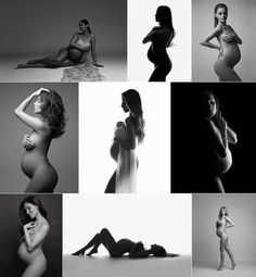 Artistic nude maternity photography