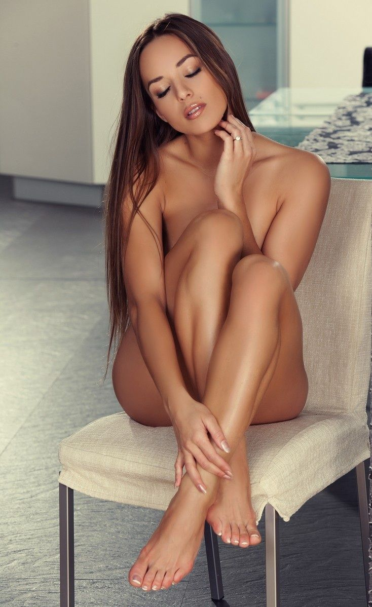Hot sexy naked girls legs