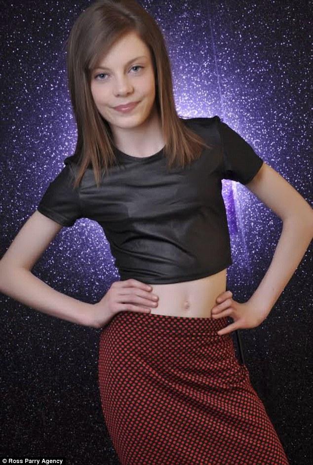 Teen junior girl models
