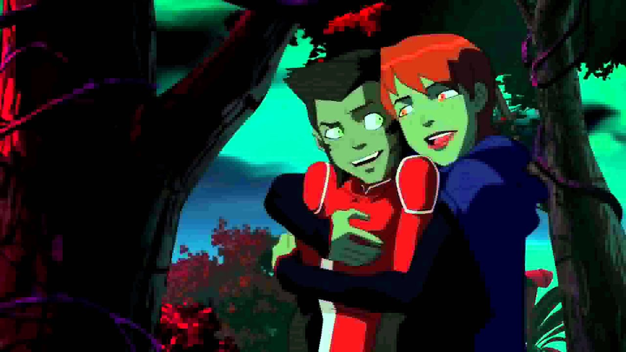 Young justice beast boy teen titans