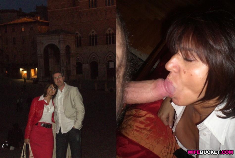 Mature cum slut wife