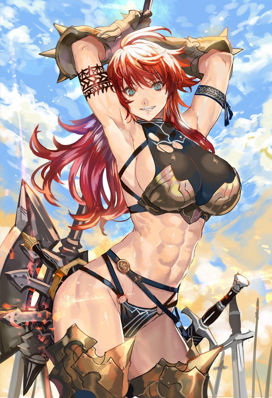 warrior hentai Fantasy girl