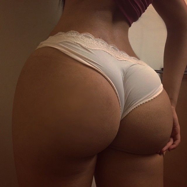 Homemade ass in panties