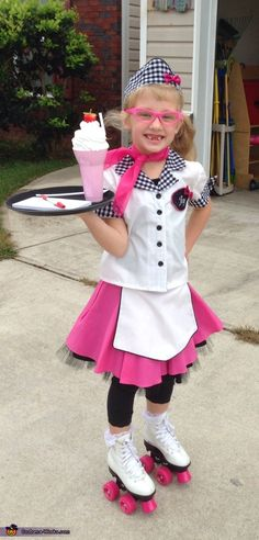 Carhop girl halloween costume