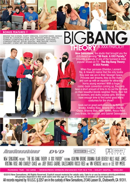 Big bang theory xxx parody