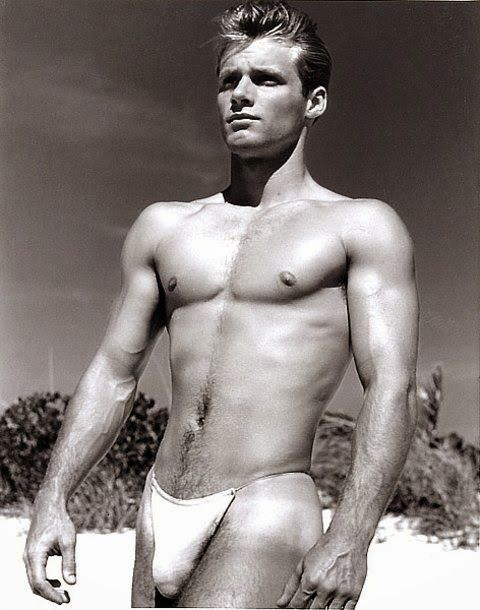 Vintage nude male models