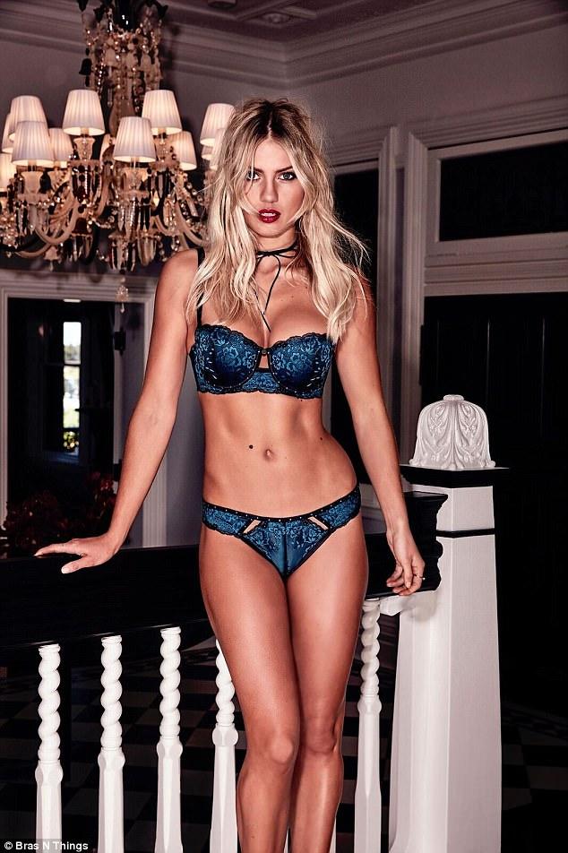 Girl next door bra and panties