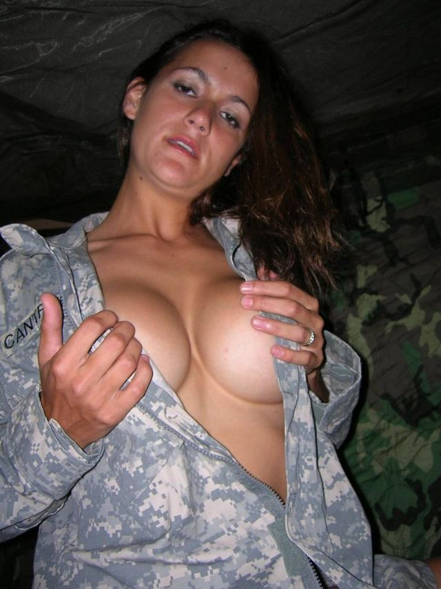 Military ass nude women army girls