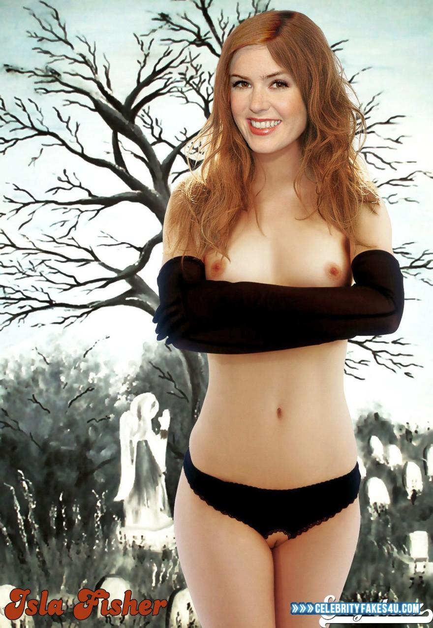Isla fisher nude fakes