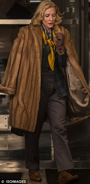 Lesbian fur coat