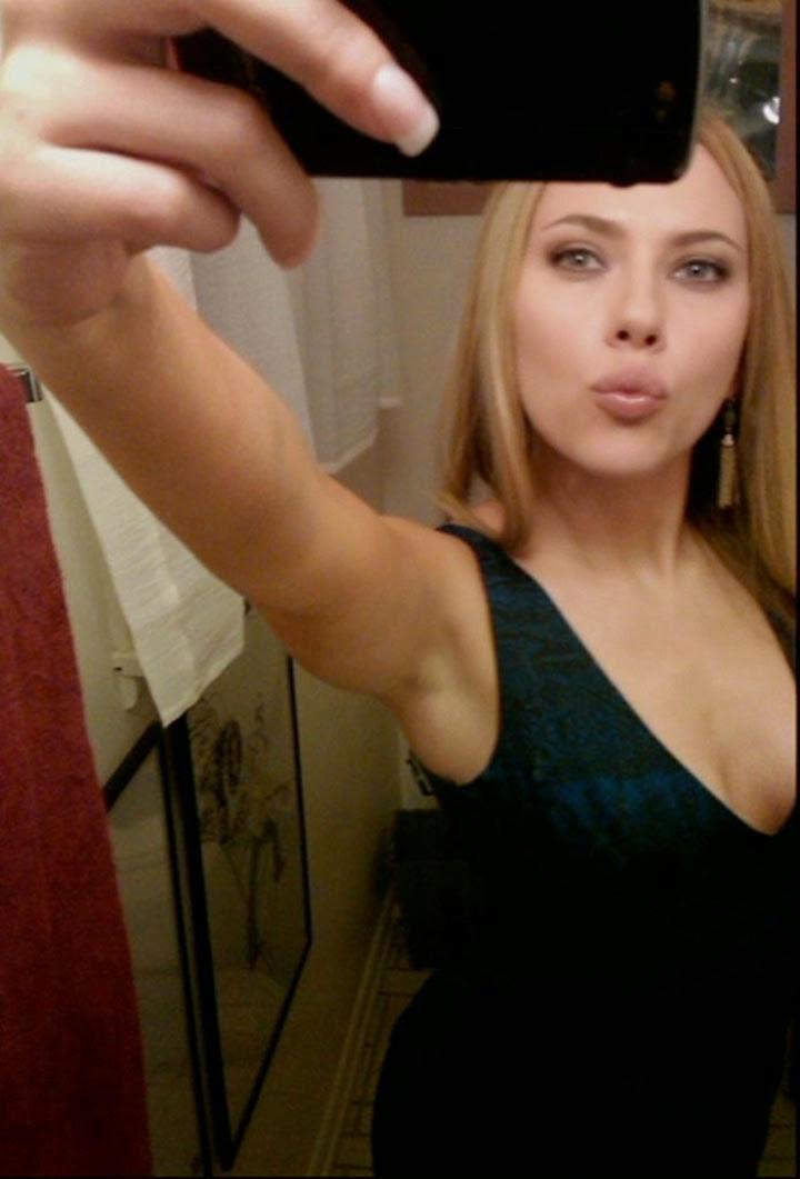 Scarlett johansson nude selfy