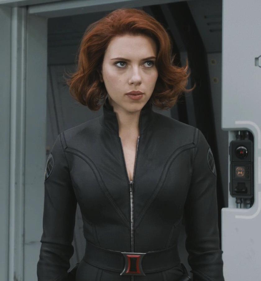 johansson black Scarlett widow avengers
