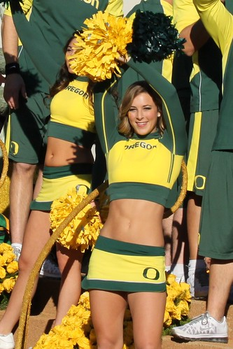 Oregon ducks cheerleader porn