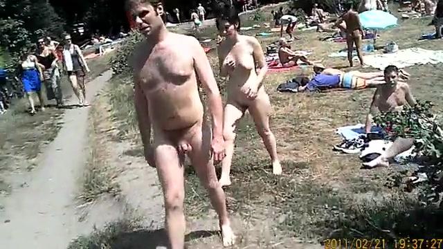 Nude naked nudist camp
