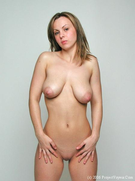 Nude saggy tits
